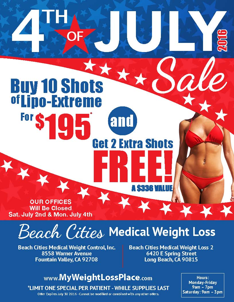 Bc 4thjuly 2016 Beach Cities Medical Weight Control
