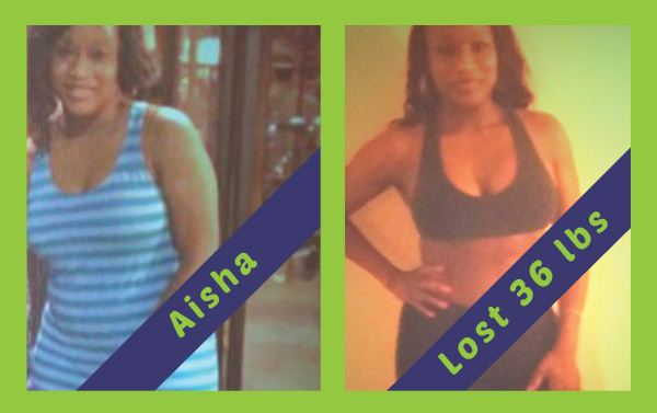 Beach Cities - Aisha lost 36lbs