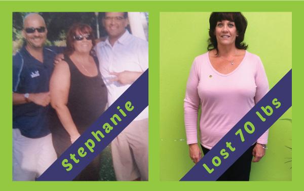 Beach Cities - Stephanie lost 70lbs