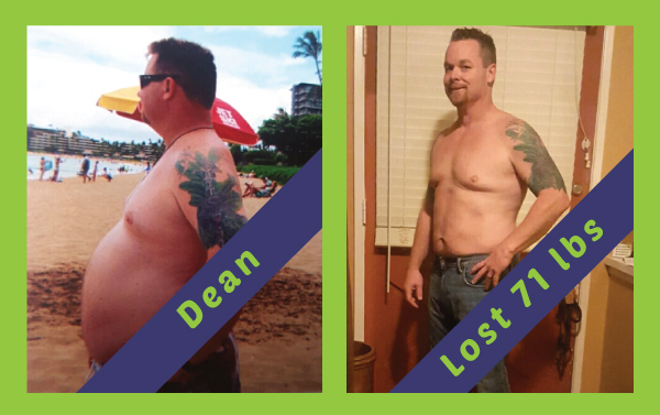 Beach Cities - Dean lost 71lbs